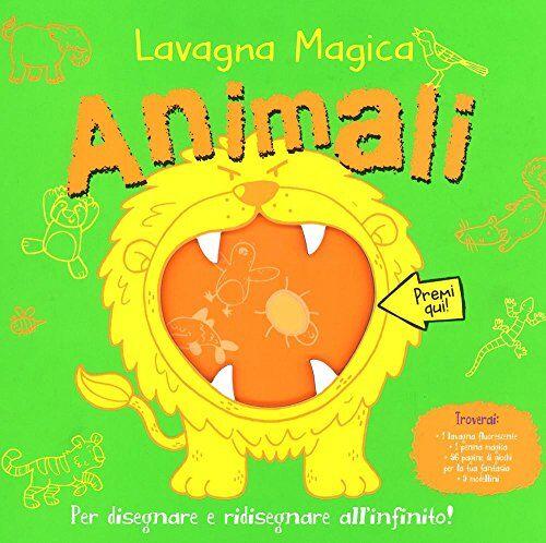 Suhel Ahmed Animali. Lavagna magica. Ediz. illustrata. Con gadget ISBN:9788851140540