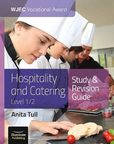 Anita Tull WJEC Vocational Award Hospitality