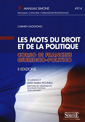 Carmen Saggiomo Les mots du droit et de la