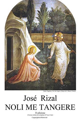 José Rizal Noli me tangere ISBN:9788891073068