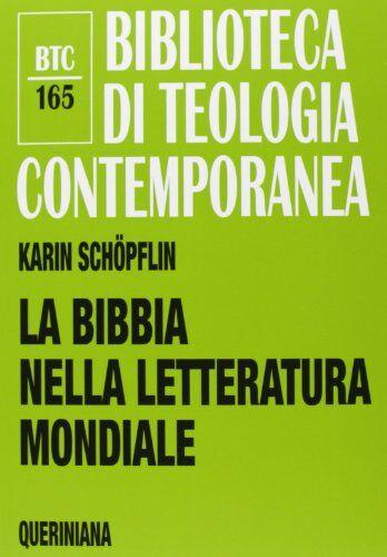 Karin Schöpflin La Bibbia nella letteratura
