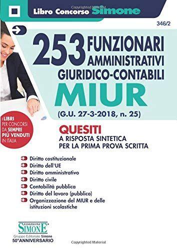 253 Funzionari Amministrativi