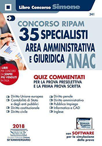 AA.VV. Concorso Ripam. 35 specialisti area