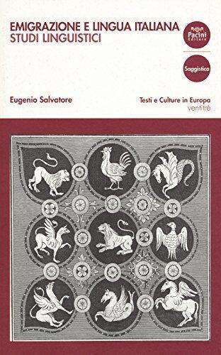 Eugenio Salvatore Emigrazione e lingua