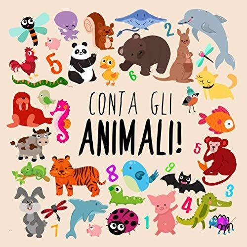 Libri per i piccoli Conta gli animali!: Un