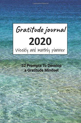 Planner Amazon Gratitude Journal 2020: 52