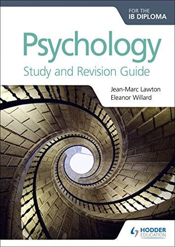 Jean-Marc Lawton Psychology for the IB Diploma