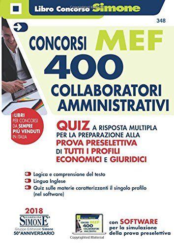 AA.VV. Concorso MEF. 400 collaboratori
