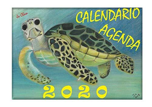 Jp Chan Calendario Agenda 2020: Animali