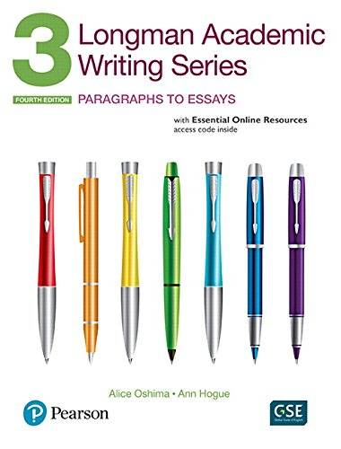 Alice Oshima Longman academic writing. Series