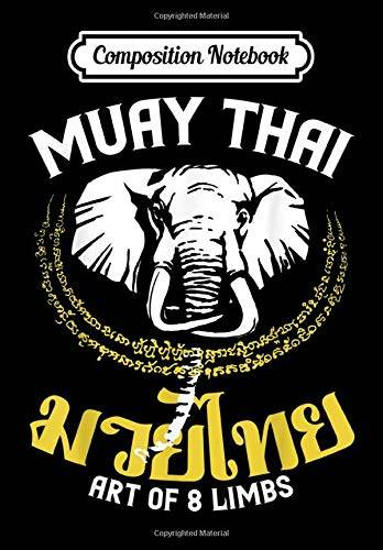 Sport Notebook Composition Notebook: Muay Thai