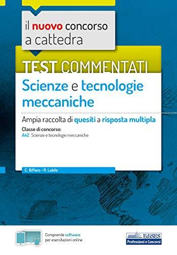 C. Biffaro Test commentati Scienze e
