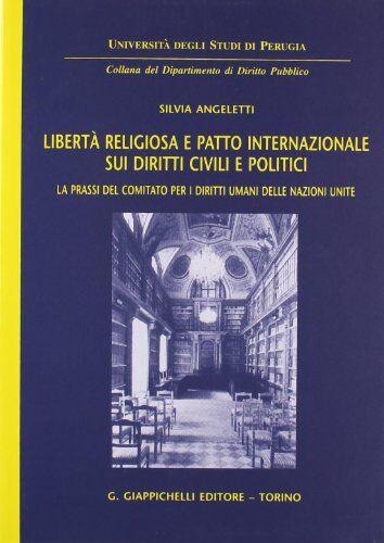 Silvia Angeletti Libertà religiosa e patto