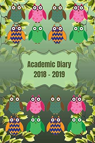 Veropa Press Academic Diary 2018-2019: Owl
