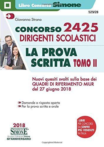 Giovanna Strano Concorso 2425 dirigenti