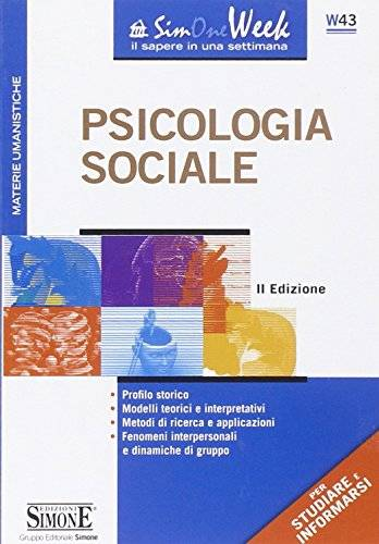 Psicologia sociale ISBN:9788824439848