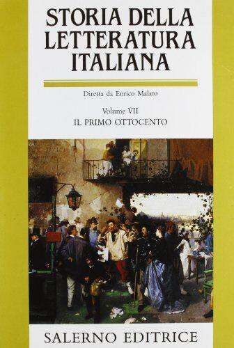 Storia della letteratura italiana. Vol. VII: