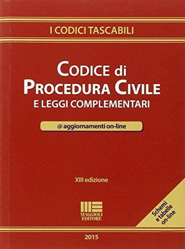 Redazione Maggioli Editore Codice di procedura