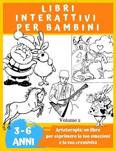 Zuno Sila LIBRI INTERATTIVI PER BAMBINI 3 A 6