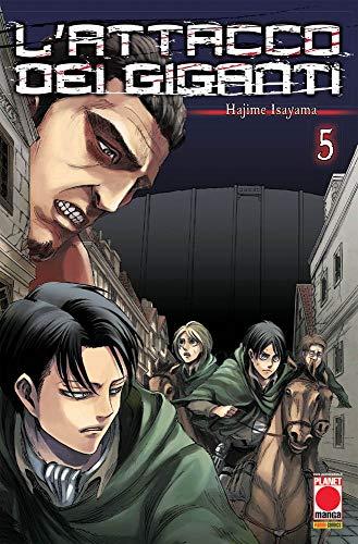 Hajime Isayama L'attacco Dei Giganti. Vol. 5