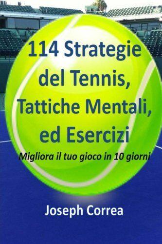 Joseph Correa 114 Strategie del Tennis,