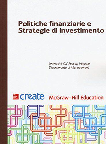Politiche finanziarie e strategie di