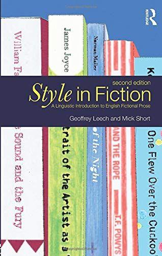 Geoffrey Leech Style in Fiction: A Linguistic