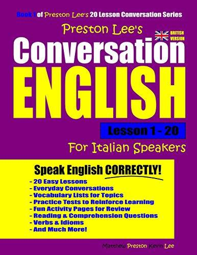 Kevin Lee Preston Lee's Conversation English