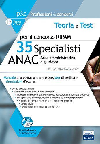 AA. VV. Concorso Ripam 35 specialisti ANAC.