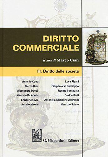 Diritto commerciale: 3 ISBN:9788892109773