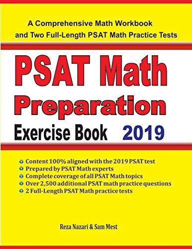 Reza Nazari PSAT Math Preparation Exercise
