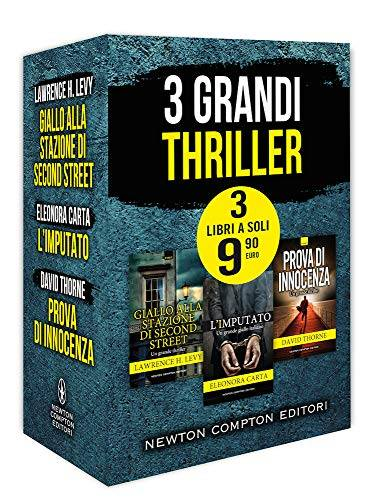 Lawrence H. Levy 3 grandi thriller: Giallo