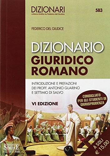 Federico Del Giudice Dizionario giuridico