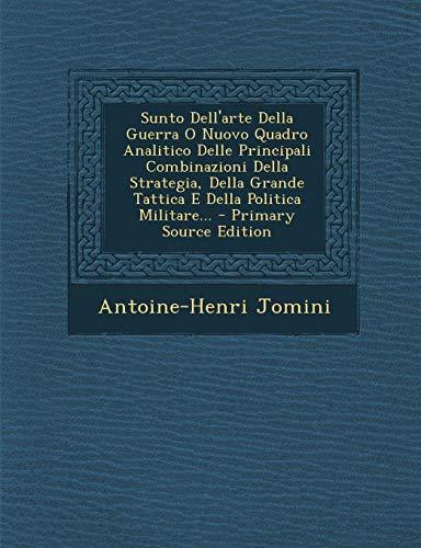 Antoine Henri Jomini Bar Sunto Dell'arte Della
