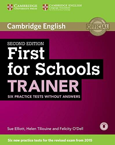 Sarah Dymond First for Schools. Trainer. Six