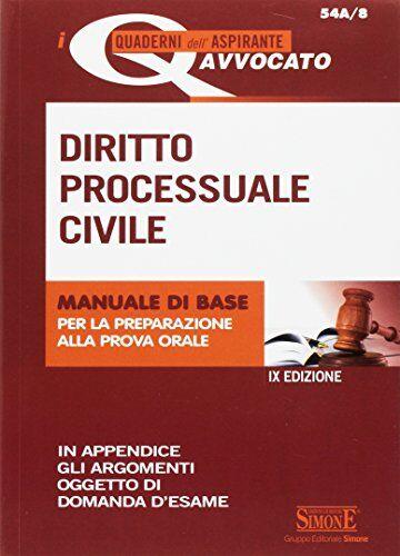 AA.VV. Diritto processuale civile. Manuale di