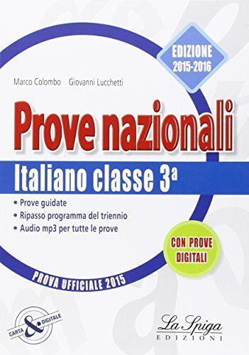 Marco Colombo Prove nazionali. Italiano. Prove