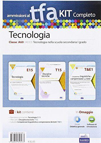 AA. VV. TFA. Classe A033 per prove scritte e