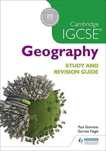 Paul Guinness Cambridge Igcse Geography Study