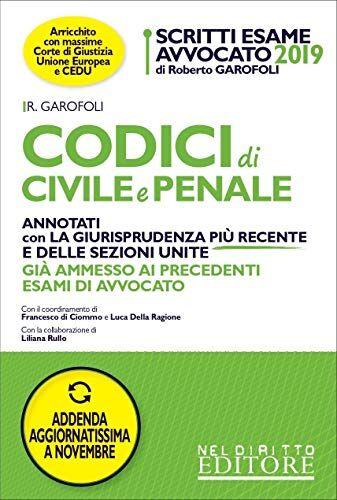 Roberto Garofoli Scritti Esame Avvocato.