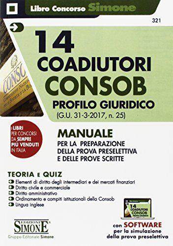 AA.VV. 14 coadiutori Consob. Profilo