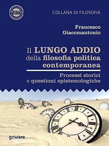 Francesco Giacomantonio Il lungo addio della