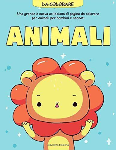Creative Animali da Colorare: 55 pagine da