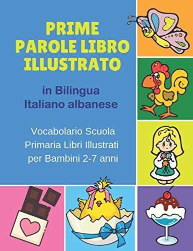 Bilinguismo Infantile Prime Parole Libro