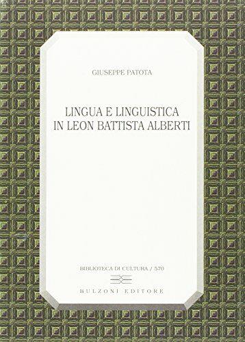 Giuseppe Patota Lingua e linguistica in Leon