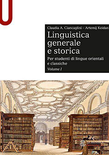 Claudia Ciancaglini Linguistica generale e