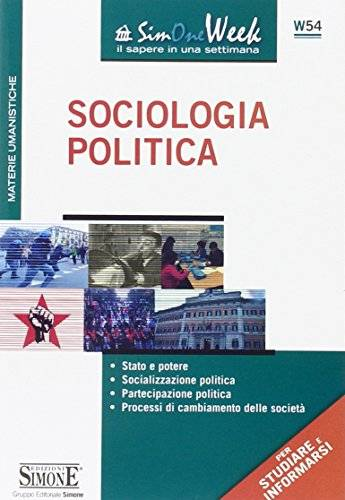 Sociologia politica. Stato e potere.