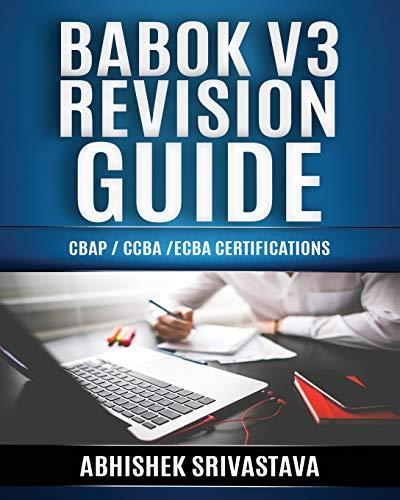 Mr Abhishek Srivastava BABOK V3 Revision