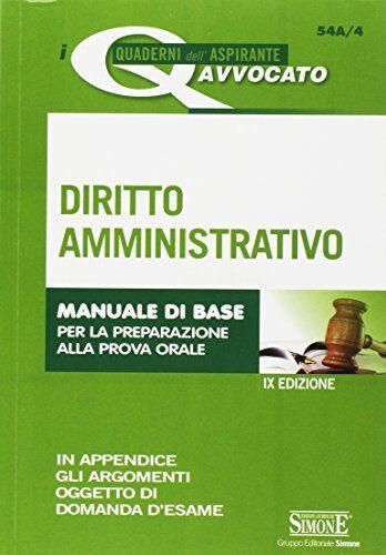AA.VV. Diritto amministrativo. Manuale di base