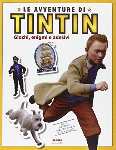 Veronica Paz Le avventure di Tintin. Giochi,
